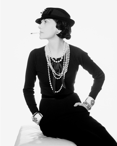 [Embed 3] Coco Chanel photographed by Man Ray in 1935 Photo ©Man Ray Trust/ADAGP