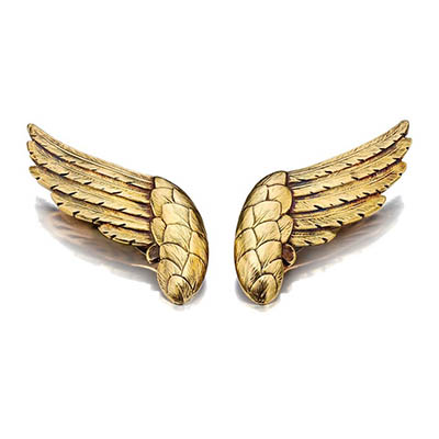 Chanel Mercury Wing brooches designed by the Duke di Verdura.