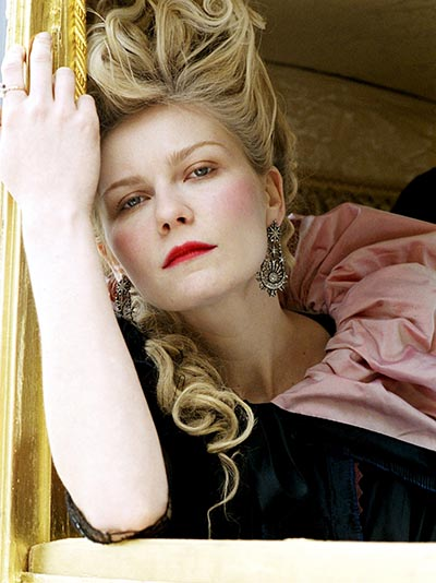 No Merchandising. Editorial Use Only. No Book Cover Usage Mandatory Credit: Photo by Snap Stills/REX/Shutterstock (2134042r) Kirsten Dunst Marie Antoinette - 2006