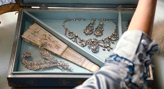 A Look at the Sparkle in Marie Antoinette The Adventurine