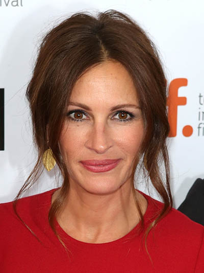 Julia Roberts attending the 2013 Tiff Film Festival Gala Red Carpet Premiere for August: Osage County at the Roy Thomson Theatre on September 9, 2013 in Toronto, Canada. (Photo by Walter McBride/Corbis via Getty Images)