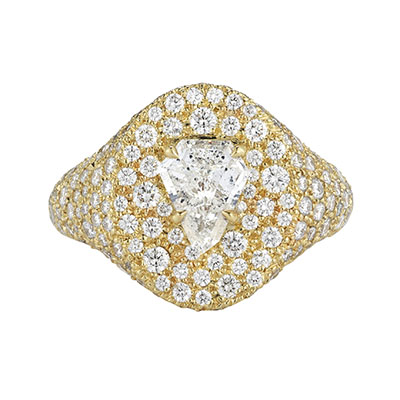 Signet Privé Luxe diamond engagement ring by Jemma Wynne