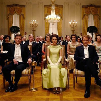 The AdventurinePostsThe Dramatic Jewels Worn by Natalie Portman in 'Jackie'