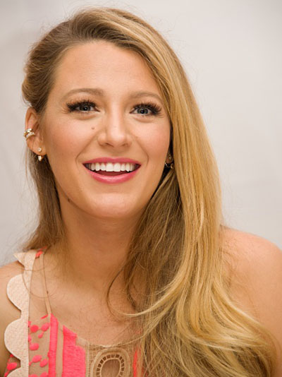 "NEW YORK, NY - JULY 12: Blake Lively at the ""Cafe Society"" Press Conference at the Conrad Hotel on July 12, 2016 in New York City. (Photo by Vera Anderson/WireImage)"