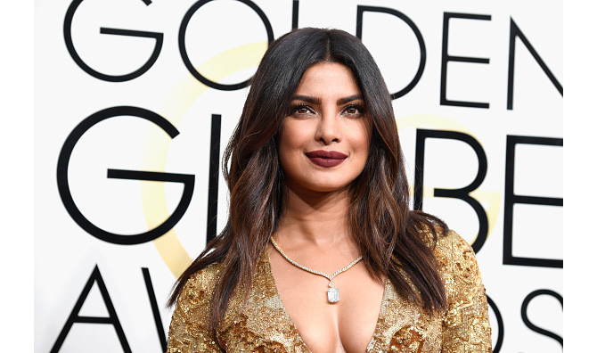 BEVERLY HILLS, CA - JANUARY 08: Actress Priyanka Chopra attends the 74th Annual Golden Globe Awards at The Beverly Hilton Hotel on January 8, 2017 in Beverly Hills, California. (Photo by Frazer Harrison/Getty Images)