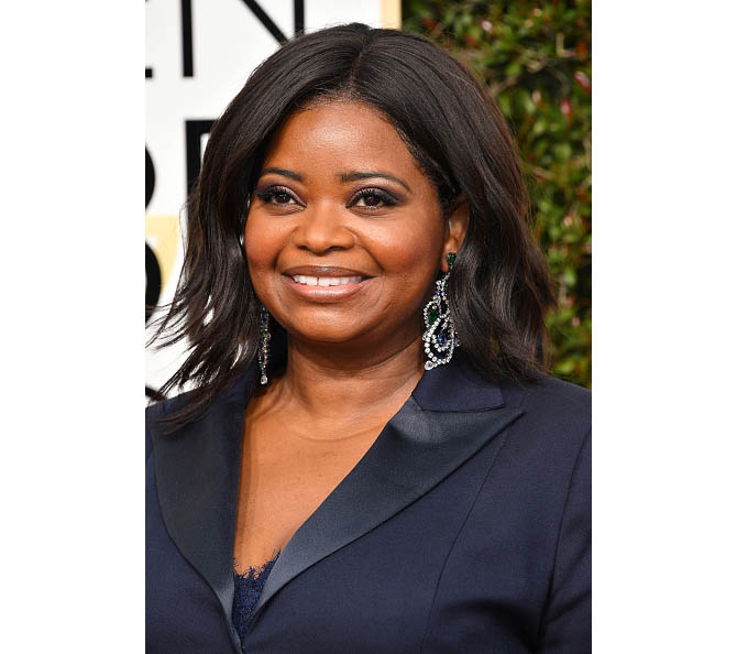 BEVERLY HILLS, CA - JANUARY 08: Actress Octavia Spencer attends the 74th Annual Golden Globe Awards at The Beverly Hilton Hotel on January 8, 2017 in Beverly Hills, California. (Photo by Steve Granitz/WireImage)