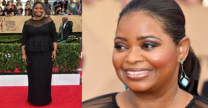 Actress Octavia Spencer arrives for the 23rd Annual Screen Actors Guild Awards at the Shrine Exposition Center on January 29, 2017, in Los Angeles, California. / AFP / FREDERIC J. BROWN (Photo credit should read FREDERIC J. BROWN/AFP/Getty Images)