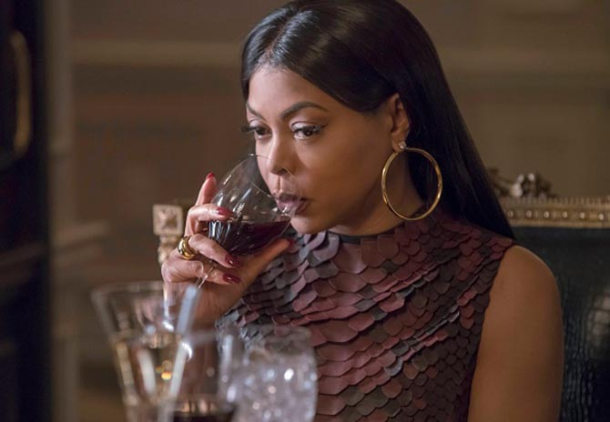 Taraji P. Henson in on of her signature jewelry styles big hoops in Season 3 of 'Empire' Photo FOX via Getty