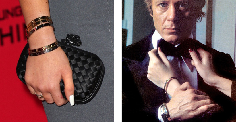 The Adventurine Posts Cartier's Love Bracelet Launched 50 Years Ago
