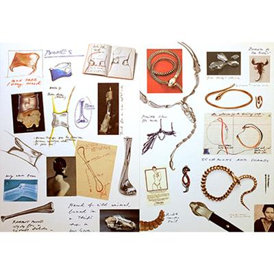 The AdventurinePostsElsa Peretti's Story Told in Scrapbook Style