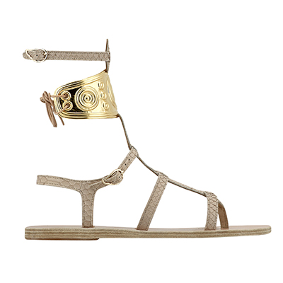 The Adventurine Posts Ancient Greek Sandals x Ilias LALAoUNIS