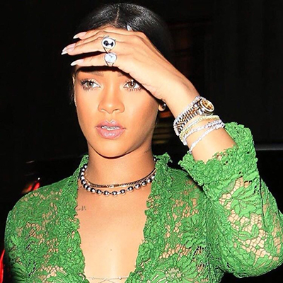 The Adventurine Posts See Rihanna's Most Surprising Summer Jewel