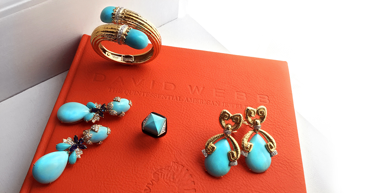 David webb s turquoise is seasonless the adventurine for Same day jewelry repair