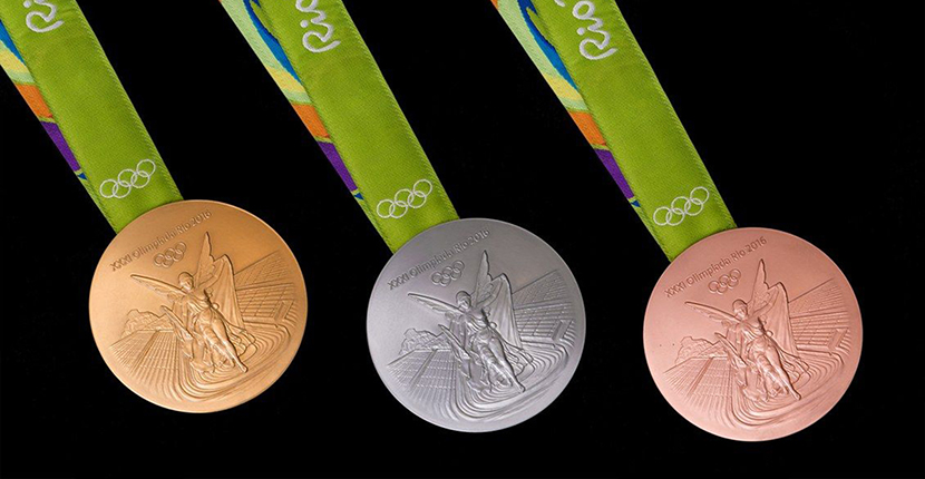The Adventurine Posts Elena Votsi Designed The Olympic Medal