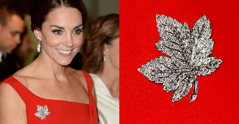 The Adventurine Posts Kate Middleton's Jewelry in Canada