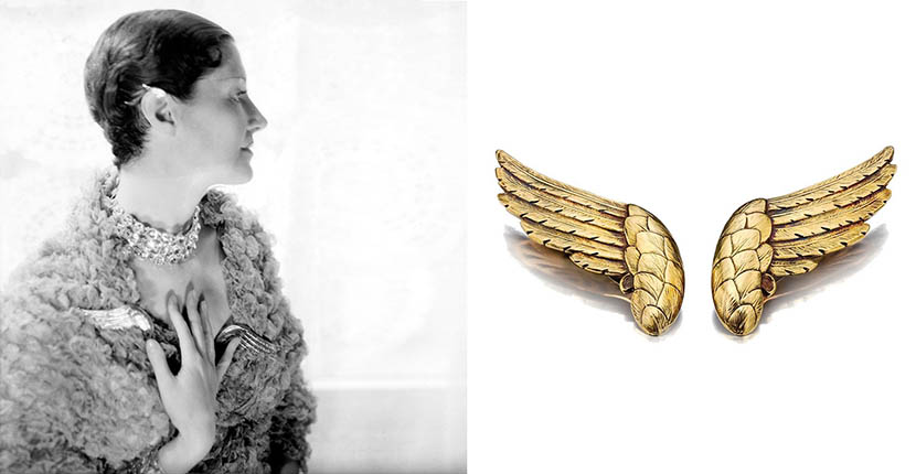 The Adventurine Posts Rare Chanel Wings Designed by Verdura Soar on to the Market