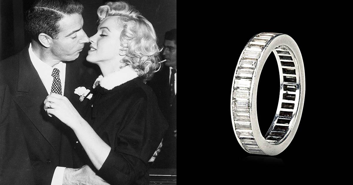 Marilyn Monroe Joe Dimaggio Ring