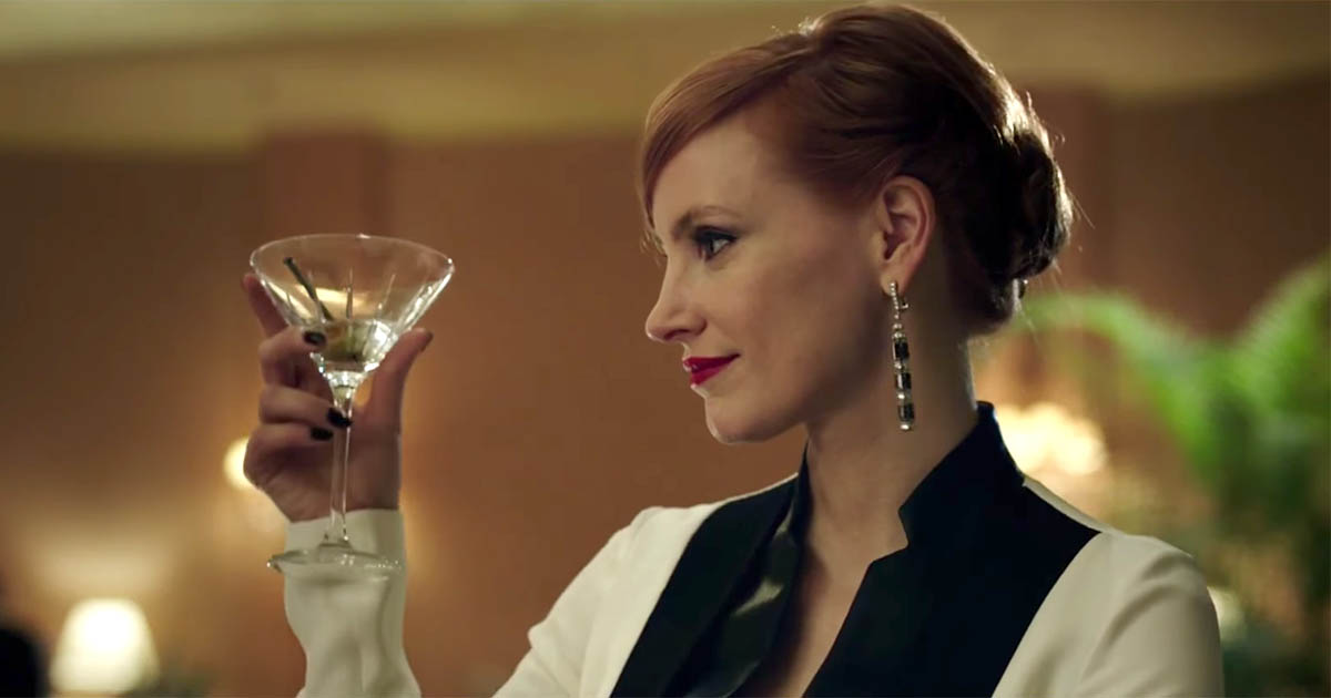 Chastain Is Bejeweled Like A Female James Bond The