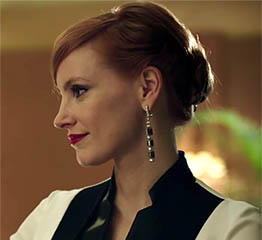 The Adventurine Posts Chastain is Bejeweled Like a Female James Bond
