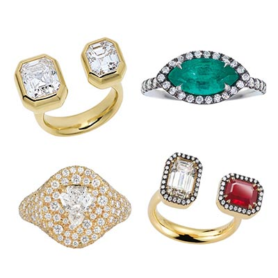 The Adventurine Posts Jemma Wynne's Engagement Ring Collection is One of the Best Ever!