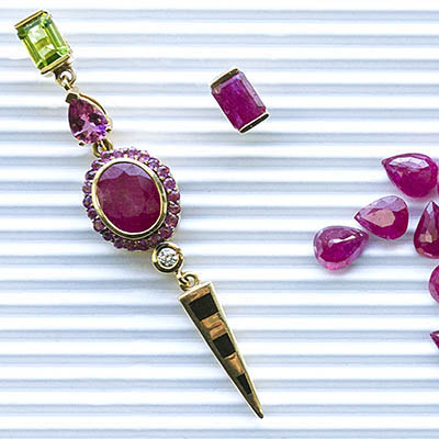 The Adventurine Posts Gemfields x Muse: Holly Dyment Amps Up Her Vibrant Jewels with Rubies, Emeralds