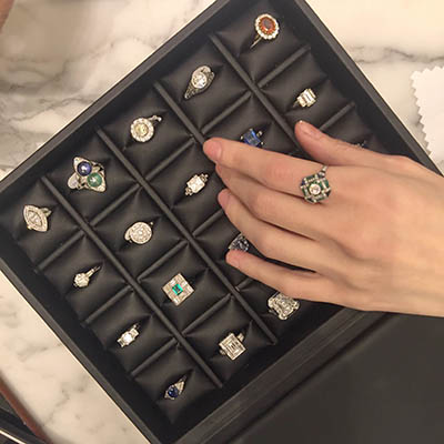 The Adventurine Posts Barneys' Antique Expert on Engagement Rings