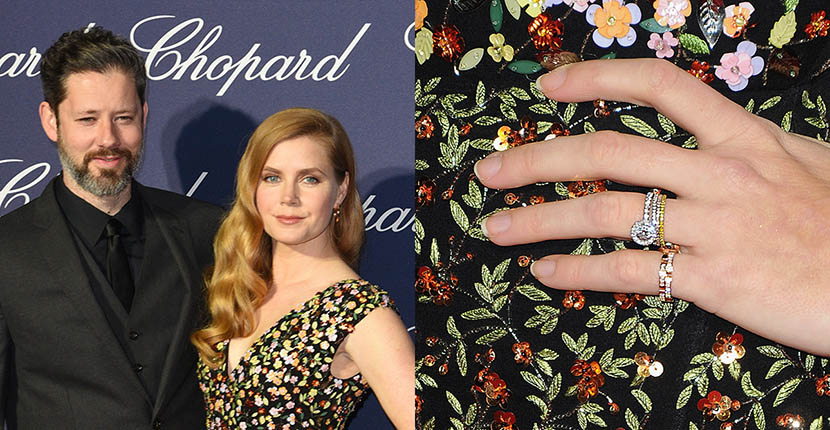 The Adventurine Posts Amy Adams' Romantic Engagement Ring
