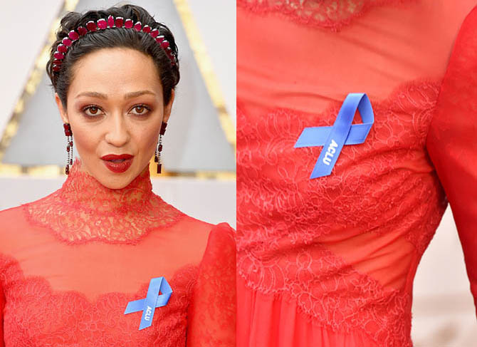 HOLLYWOOD, CA - FEBRUARY 26: Actor Ruth Negga attends the 89th Annual Academy Awards at Hollywood & Highland Center on February 26, 2017 in Hollywood, California. (Photo by Steve Granitz/WireImage)