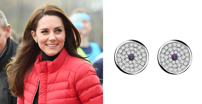 The Adventurine Posts Kate Middleton's Daytime Diamonds from Asprey