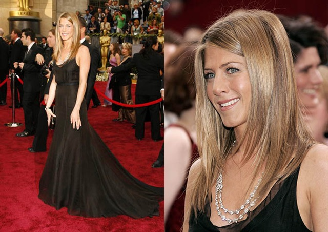 Jennifer Aniston at the The 78th Annual Academy Awards - Arrivals at Kodak Theatre in Hollywood, California. (Photo by Chris Polk/FilmMagic)