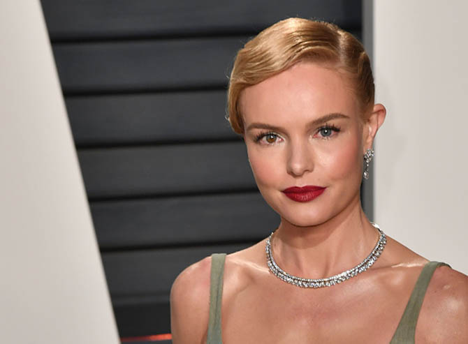 BEVERLY HILLS, CA - FEBRUARY 26: Kate Bosworth attends the 2017 Vanity Fair Oscar Party hosted by Graydon Carter at Wallis Annenberg Center for the Performing Arts on February 26, 2017 in Beverly Hills, California. (Photo by C Flanigan/Getty Images)