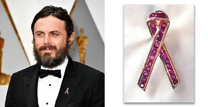The Adventurine Posts All The Statement Pins at the 2017 Oscars