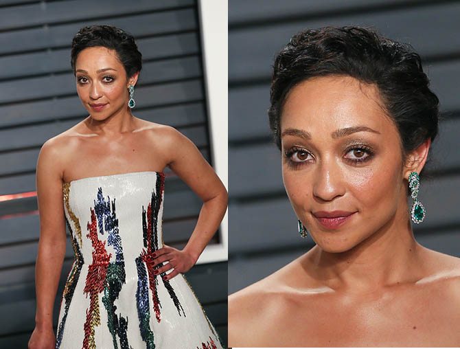 BEVERLY HILLS, CA - FEBRUARY 26: Actress Ruth Negga attends the 2017 Vanity Fair Oscar Party hosted by Graydon Carter at the Wallis Annenberg Center for the Performing Arts on February 26, 2017 in Beverly Hills, California. (Photo by David Livingston/Getty Images)