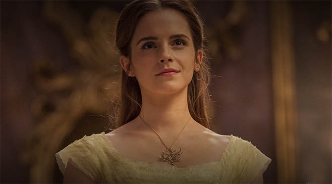 Emma Watson wearing the Tree Branch Suite of jewels in 'Beauty and the Beast' Photo Walt Disney