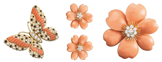 Butterfly and Flower Jewels by Van Cleef & Arpels Photo Patrick Gries © Van Cleef & Arpels