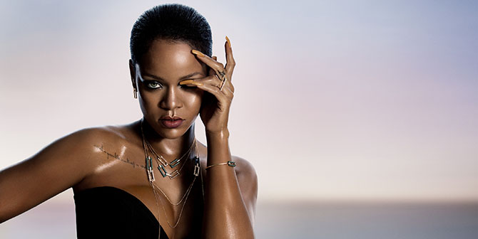 Ad campaign image for the Rihanna ♥ Chopard collection Photo courtesy