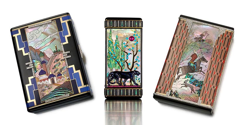 The AdventurinePostsArt Deco Objects from a Royal Collection