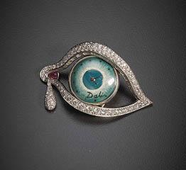 The AdventurinePostsAt Auction: Salvador Dalí's Eye of Time