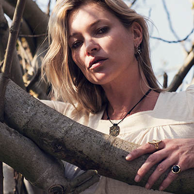 The Adventurine Posts Kate Moss x Ara Vartanian: A Cool Collab