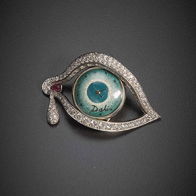 The Adventurine Posts At Auction: Salvador Dalí's Eye of Time