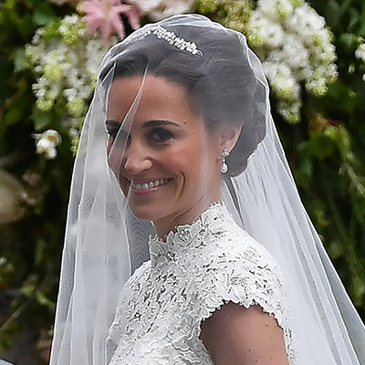 The Adventurine Posts Were Pippa Middleton's Earrings Her Something Old?
