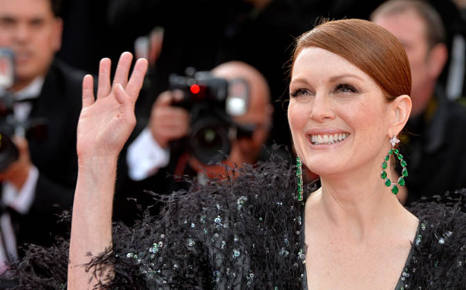 "CANNES, FRANCE - MAY 13: Julianne Moore attends the opening ceremony and ""La Tete Haute"" (""Standing Tall"") premiere during the 68th annual Cannes Film Festival on May 13, 2015 in Cannes, France. (Photo by Anthony Harvey/FilmMagic,)"