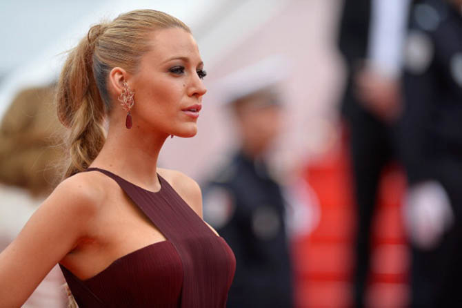 "CANNES, FRANCE - MAY 14: Blake Lively attends the Opening ceremony and the ""Grace of Monaco"" Premiere during the 67th Annual Cannes Film Festival on May 14, 2014 in Cannes, France. (Photo by Pascal Le Segretain/Getty Images)"