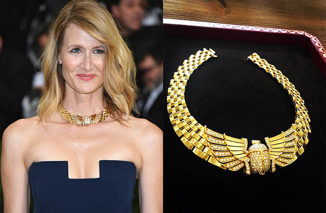 """NEW YORK, NY - MAY 01: Laura Dern attends the """"Rei Kawakubo/Comme des Garcons: Art Of The In-Between"""" Costume Institute Gala at Metropolitan Museum of Art on May 1, 2017 in New York City. (Photo by Dia Dipasupil/Getty Images For Entertainment Weekly)"""
