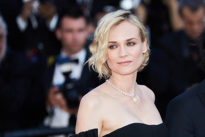 CANNES, FRANCE - MAY 28: Actress Diane Kruger in a Chopard necklace at the Closing Ceremony of the 70th annual Cannes Film Festival at Palais des Festivals on May 28, 2017 in Cannes, France. (Photo by Epsilon/Getty Images)