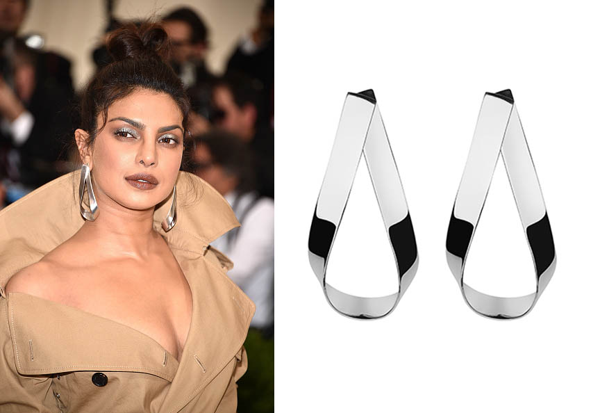 Priyanka Chopra in Jennifer Fisher at the MET Gala