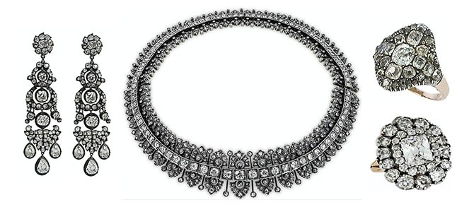 The antique diamond jewelry from Stephen Russell worn by Nicole Kidman Photo courtesy