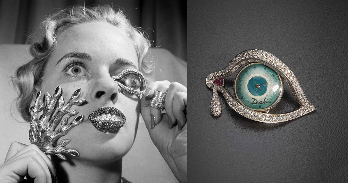 At Auction Salvador Dal 237 S Eye Of Time The Adventurine
