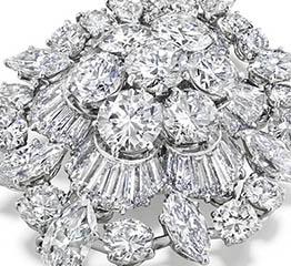 The AdventurinePostsAt Auction: Elizabeth Taylor's Diamond Brooch
