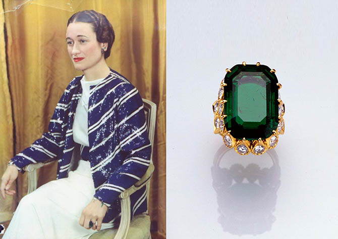 The Duchess Of Windsors Engagement Ring